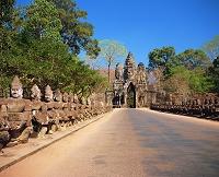 カンボジア アンコール・トム 南大門