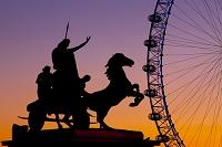 イギリス ロンドン ブーディカ像