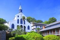 長崎県 新緑の大浦天主堂