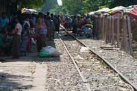 ミャンマーの鉄道駅