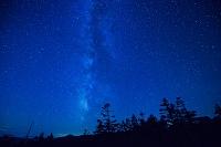 岩手県 天の川と夜空