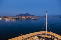イタリア ナポリ湾 ヴェスヴィオ火山