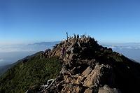 長野県 赤岳山頂