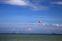 マレーシア ペナン島 パラセーリング