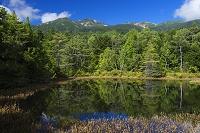 長野県 牛留池から乗鞍岳