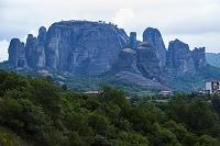 ギリシャ メテオラの奇岩