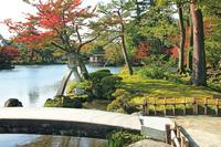 石川県 紅葉の兼六園
