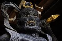 大阪府 常光寺阿形仁王立像