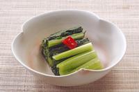 江戸菜の塩漬け