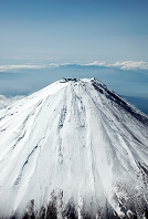 富士山(高度4,300mより撮影)