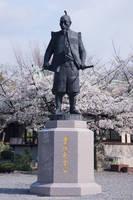 大阪府 豊国神社・豊臣秀吉公像