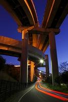 埼玉県 川口ジャンクションの夜景