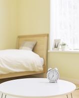 寝室の目覚まし時計