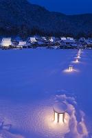 京都府 美山町 かやぶきの里雪灯廊