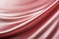 ピンク系ドレープ 布