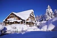 北海道 旭岳温泉 冬のロッジ