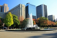 東京都 日比谷公園の紅葉