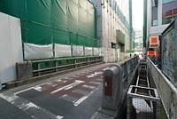 東京渋谷稲荷橋周辺の再開発