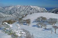 三重県 竜ガ岳から鈴鹿山脈北部の山々