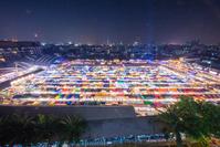 タイ王国 バンコクの夜景