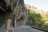 インド アウランガーバード石窟寺院