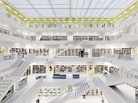 ドイツ シュトゥットガルト市立図書館