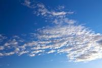 秋田県 青空と雲