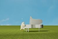 ピアノを弾く羊