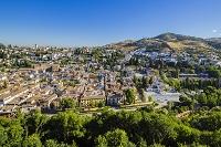 スペイン グラナダ アルハンブラ宮殿 アルバイシン地区