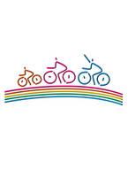 CG イラスト サイクリング