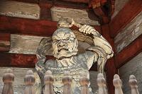 京都府 京都 仁和寺 仁王像