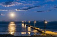 千葉県 夜の原岡海岸