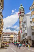 オーストリア 黄金の小屋根と市の塔