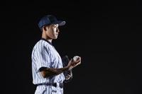 気持ちを集中する日本人投手