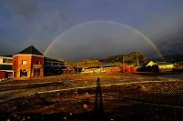 アルゼンチン チャルテン 虹
