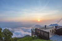長野県 「SORA terrace」から見る雲海