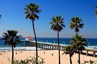 ロサンゼルス 夏のマンハッタンビーチ