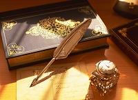 書籍と万年筆