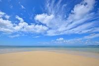 沖縄県 石垣島 午後の海