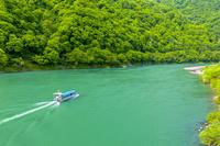新潟県 阿賀野川ライン舟下り