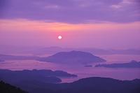 山口県 瀬戸内海の日の出