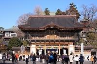 千葉県 成田山新勝寺正月風景