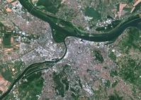 衛星写真 セルビア