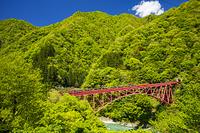 日本 富山県 黒部渓谷鉄道
