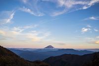山梨県 富士山 丸山林道 夕方