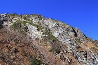 山梨県 八本歯登山道から見る北岳バットレス