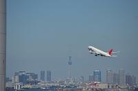東京都 羽田空港 JAL離陸