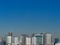 東京都 東京湾沿いの高層ビル群