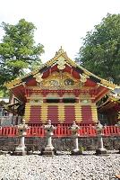 栃木県 日光東照宮 上神庫の想像の像