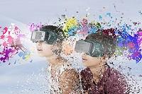 VRを体験する子供たち
